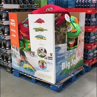 Pool Petz Bulk Bin Summer Merchandising
