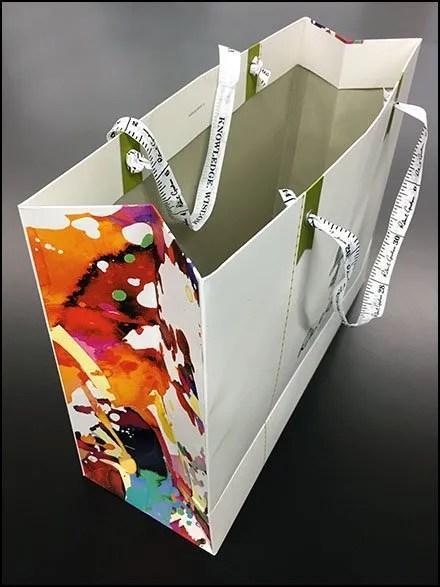 Robert Graham Branded Shopping Bag