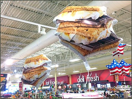High-Flying S'mores Summer Inflatables