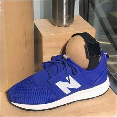 Sneaker Ball Joint Display Flexibility
