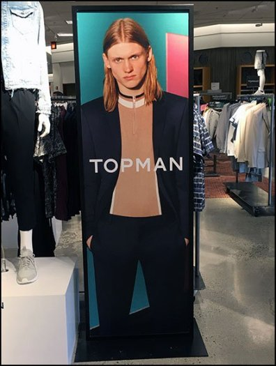 Topman Multi-Level Branding At Neiman Marcus