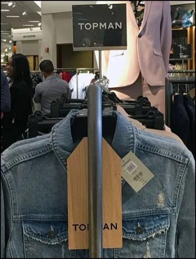 Topman Multi-Level Branding At Neiman Marcus