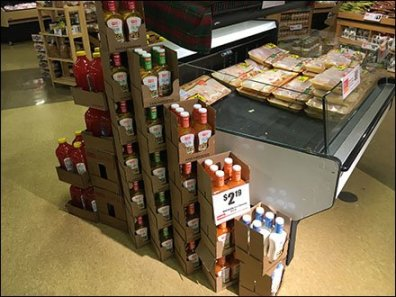 Salad Dressing 6-Packs Stacked
