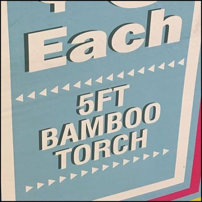 Bamboo Garden Torches Mass Merchandised
