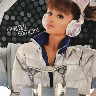 Brookstone Ariana Cat Ear Bluetooth Headphones 2