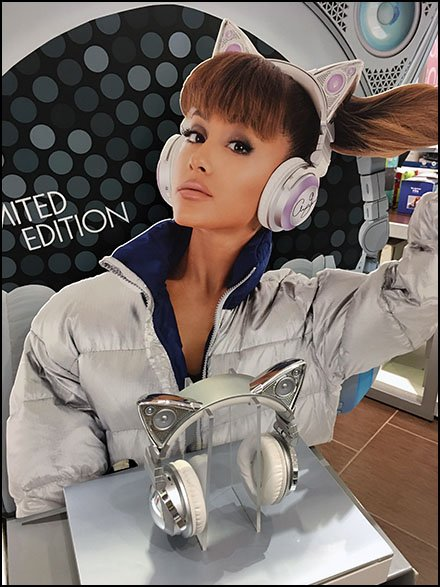 Ariana Cat Ear Limited Edition Headphones