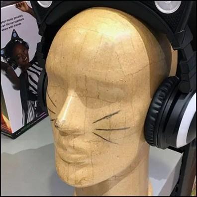 Cat Face Do-It-Yourself Headform Creation