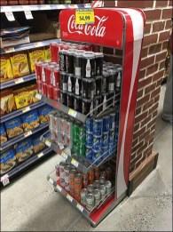 Coca-Cola Vending Machine Rack 3