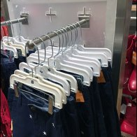 Cross-Slot Slotwall Endcap for Apparel