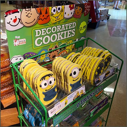 Decorated Rack for Decorated Cookie Merchandising