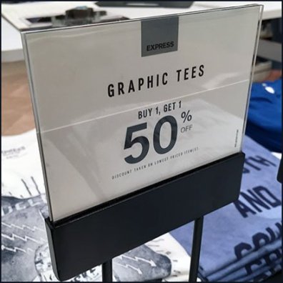 Expansive T-Shirt BOGO Buffet At Express