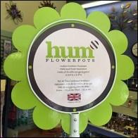 Flowerpot Ringhook Tower Sign
