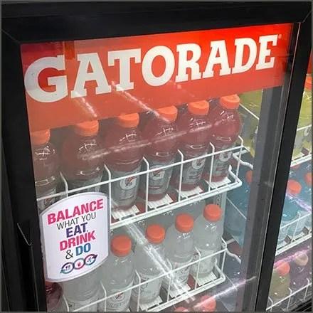 Gatorade Branded Cooler Doors