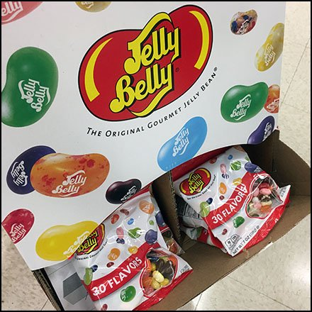 Jelly Belly Jelly Bean Gravity Feed Feature