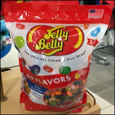 Jelly Belly Jelly Bean Country of Origin