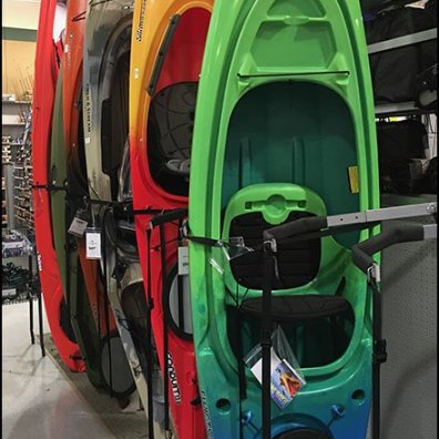 Vertical Kayak Bar-Mount Saddle Arm