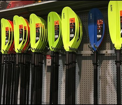 Kayak Paddle Bar-Mount Undulating Utility Hooks