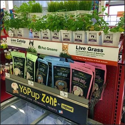 Live Catnip Merchandising and Pet Greens