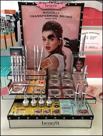 Anti-Halloween Cosmetics Merchandising Strategy