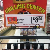 Mr BBQ Grilling Center Mobile Gridwall