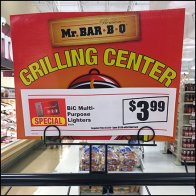 Mr BBQ Grilling Center Grid Display Feature