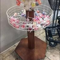 Original Gourmet Circular Basket Lollipop Tree