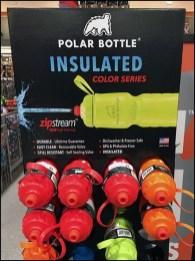 Vertical Water Bottle Freestanding Display
