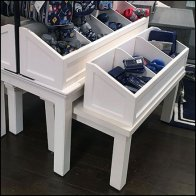 Pottery Barn Trestle Table Bins Feature2