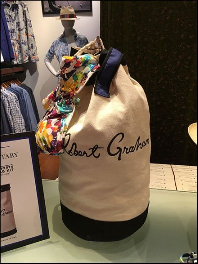 Robert Graham Summer Duffle Gift Promo