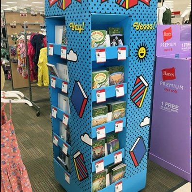 Sensational Summer Book Reading Floorstand Display