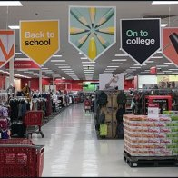 Shop Back-To-School Overhead Entry Signs