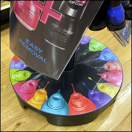 Sinful Colors Spiral Spinner Tower