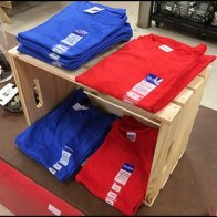 T-Shirt Wood Crate Merchandising 2