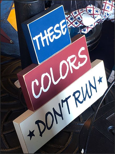 These Colors Don't Run Store Promise