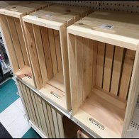 Where To Get Wood Crate Props For Merchandising