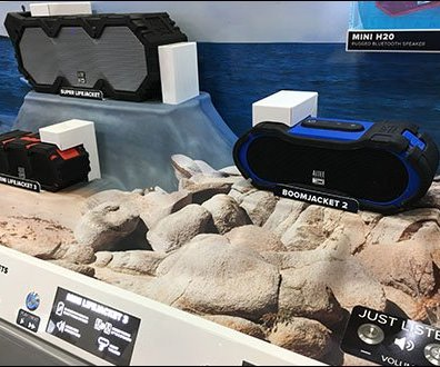 Altec Speakers Display Take On Topography