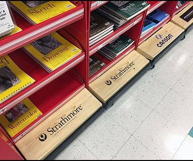 Curb Branding Strategy For Art Supplies