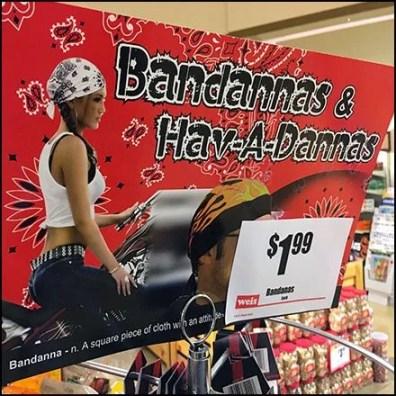 Bandana Pole Rack Feature