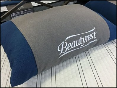 Color Coded Beautyrest Pillow Merchandising