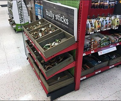 Bully Sticks Half-Height Endcap Display 3