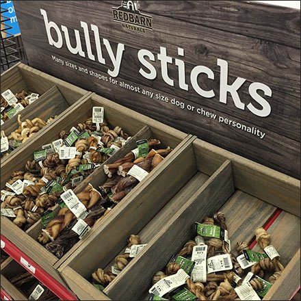 Bully Sticks Half-Height Endcap Display Feature
