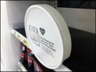 Circular Sign Holder for Shelf Edge