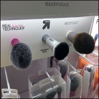 Cosmetics Brush Shelf-Edge Sampler By EcoTools