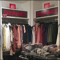 Express Apparel Clearance Corner Feature