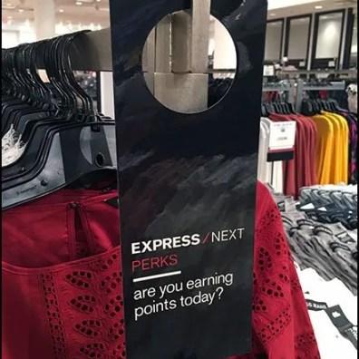 Express Perks Door Knob Hanger Sign