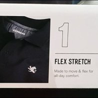 Polo Shirt Shelf-Edge Style Definitions Sign