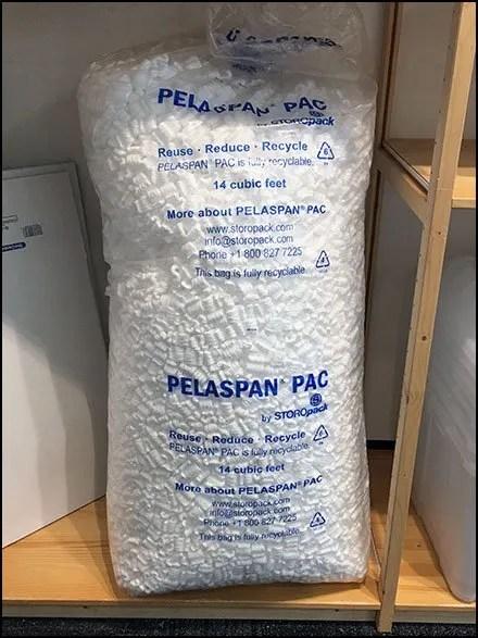 Family Pack Styro-Peanut Merchandising