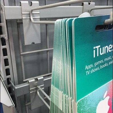 Dual-Use GridWall Bar Hook for iTunes