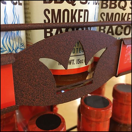 Branded Sidesaddle Rack For Kings Hawaiian