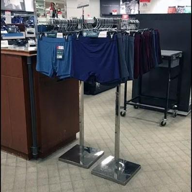 Clothes Hanger Underwear Merchandising